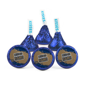 Hershey's Kisses - Let's Go Rams Football Party (50 Pack)