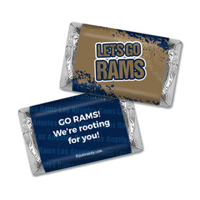 Go Rams! Superbowl Hershey's Mini Wrappers Only