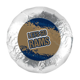 """Go Rams! Super Bowl Year 1.25"""" Stickers (48 Stickers)"""