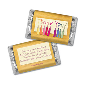 Color Me Thankful Personalized Miniature Wrappers