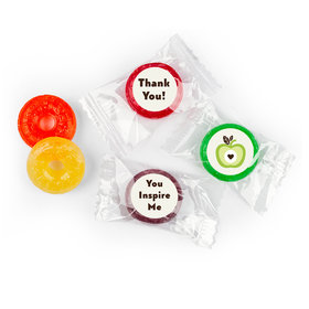 Custom LifeSavers 5 Flavor Hard Candy - Core Teacher Gift Stickers