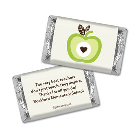 One Cool Apple Personalized Miniature Wrappers