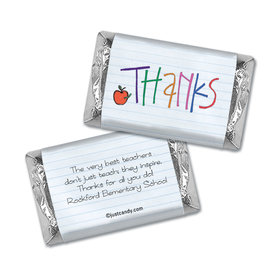 Notebook Thanks Personalized Miniature Wrappers