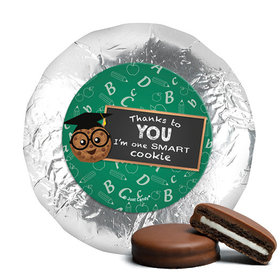 Milk Chocolate Covered Oreos - Teacher Appreciation One Smart Cookie (24 Pack)