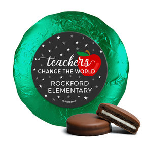 Personalized Teacher Appreciation Stars of a Scholar Chocolate Covered Foil Oreos s