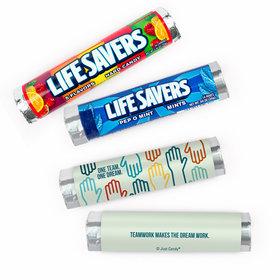 Personalized Add Your Artwork Lifesavers Rolls - 20 Rolls