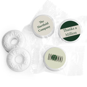 Thanks a Million Personalized Business LIFE SAVERS Mints Assembled