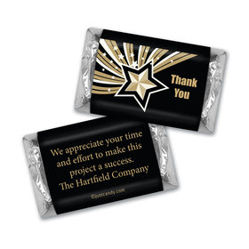 Personalized Hershey's Miniatures - Business Thank You Star of Excellence