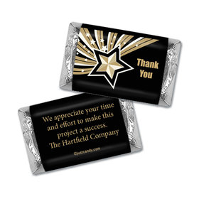 Personalized Hershey's Miniature Wrappers Only - Business Thank You Star of Excellence