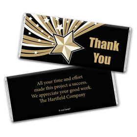 Star of Excellence Personalized Candy Bar - Wrapper Only