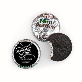 Thank You Personalized Pearson's Mint Patties Scroll