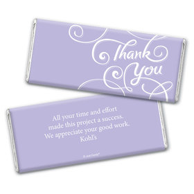 Surrounding Thanks Personalized Candy Bar - Wrapper Only