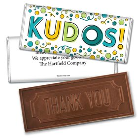 Well DoneEmbossed Thank You Bar Personalized Embossed Chocolate Bar Assembled