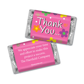 Dazzling Daisy Personalized Miniature Wrappers