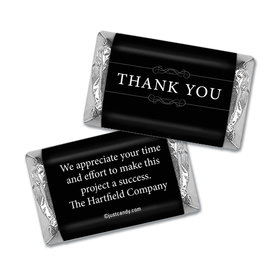 Personalized Hershey's Miniature Wrappers Only - Thank You Simple