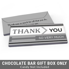 Deluxe Personalized To the Point Business Thank You Candy Bar Cover