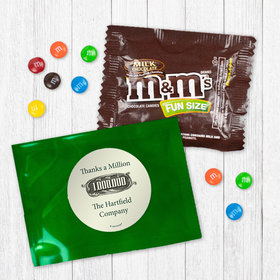 Personalized Business Thanks a Million - Milk Chocolate M&Ms