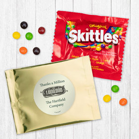 Personalized Business Thanks a Million - Skittles