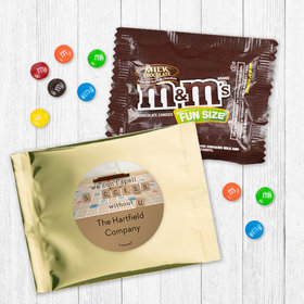 Personalized Business Thank You Scrabble Success - Milk Chocolate M&Ms
