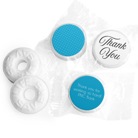 Personalized Business Dotted Thank You LifeSavers Mints