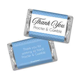 Personalized Hershey's Miniatures - Thank You Pin Dots
