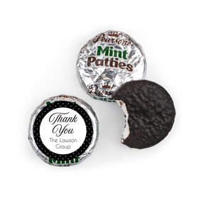 Peerless Business Favor Stickers Personalized Pearson's Mint Patties