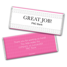 Personalized Thank You Great Job Chocolate Bar Wrappers