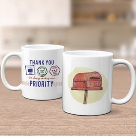 Thank You Postal Service 11oz Mug Empty