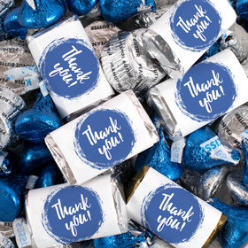 Thank You Candy Hershey's Miniatures, Kisses and JC Peanut Butter Cups