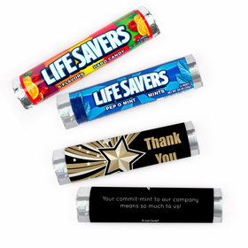 Personalized Thank You Rising Star Lifesavers Rolls (20 Rolls)