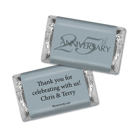 Simple Anniversary Personalized Miniature Wrappers