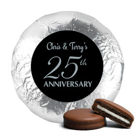 Simple Anniversary Milk Chocolate Covered Oreo Cookies Assembled