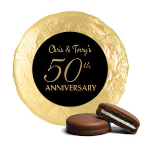 Simple Anniversary Milk Chocolate Covered Oreo Cookies Assembled (24 Pack)