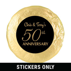 "Simple Anniversary 1.25"" Sticker (48 Stickers)"