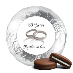 A Lifetime Together Milk Chocolate Covered Oreo Cookies Assembled