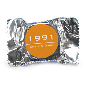 Anniversary Personalized York Peppermint Patties Banner Year
