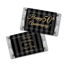Party Pinstripes Personalized Miniature Wrappers