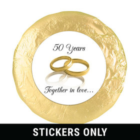 "A Lifetime Together 1.25"" Sticker (48 Stickers)"