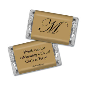 Formal Anniversary Personalized Miniature Wrappers