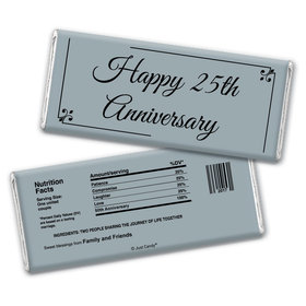 Anniversary Party Favors Personalized Chocolate Bar Wrappers Chocolate & Wrapper Simple Truth Anniversary Favors