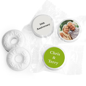 Anniversary Personalized Life Savers Mints Full Photo (300 Pack)
