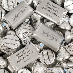 25th Anniversary Hershey's Miniatures, Kisses and JC Peanut Butter Cups