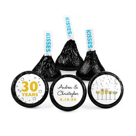 Personalized Anniversary Cheers to Love Hershey's Kisses (50 pack)