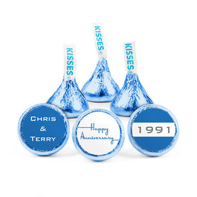 Personalized Anniversary When It Began Hershey's Kisses (50 pack)