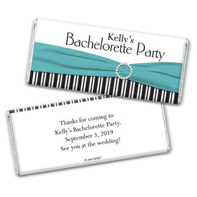 Classy Bachelorette Party Favors Personalized Candy Bar - Wrapper Only