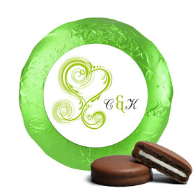 Personalized Wedding Reception Favors Belgian Chocolate Covered Oreo Cookies