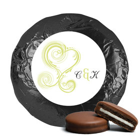 Personalized Wedding Reception Favors Milk Chocolate Covered Oreo Cookies
