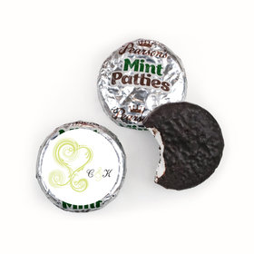 Personalized Wedding Reception Favors Pearsons Mint Patties
