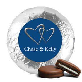 Personalized Wedding Reception Favors Milk Chocolate Covered Oreo Cookies (24 Pack)