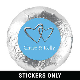 """Personalized Wedding Reception Favors 1.25"""" Stickers (48 Stickers)"""